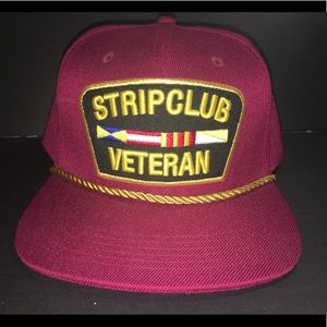 NWOT strip club veteran New York reason SnapBack